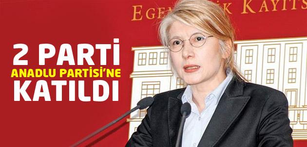 Anadolu Partisi 2 partiyi bünyesne kattı!