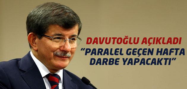 Başbakan Ahmet Davutoğlu MUHALEFETİ ve PARALELİ bombaladı!