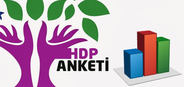 Anketlerde HDP barajı aşıyor mu?
