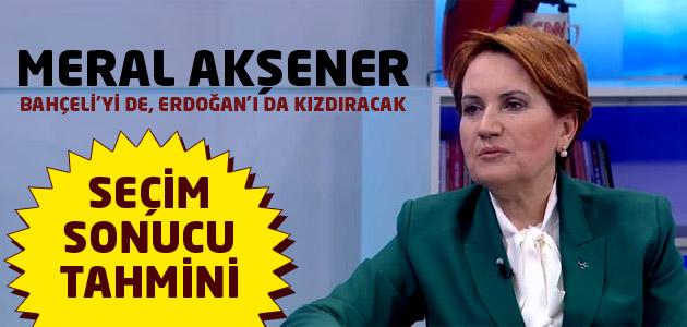 MHP Milletvekili Adayı Meral Akşener hem Bahçeliyi hem de Cumhurbaşkanını kızdıracak!