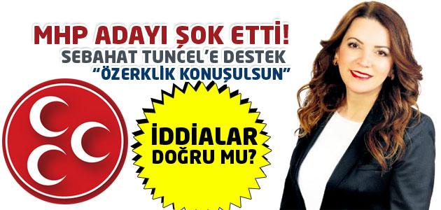 MHP adayı Arzu Erdem, Özerklik filan ne isteniyorsa konuşulsun dedi mi?