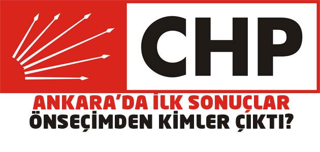 CHP ön seçim sonuçları - Tam liste