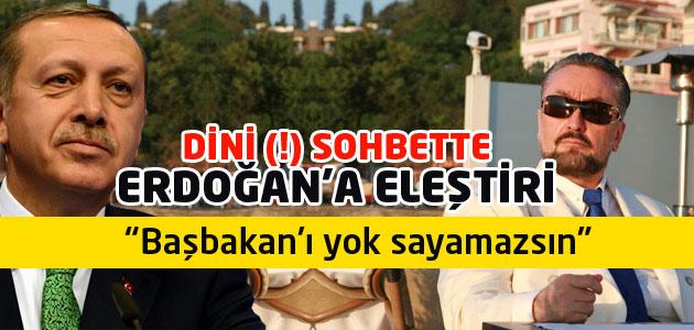Adnan Oktardan Cumhurbaşkanı Erdoğana Başkanlık Sistemi eleştirisi