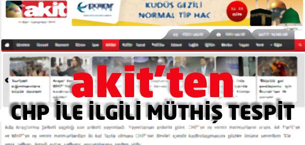 Akit Gazetesi, anket sonucuna göre memurları itham etti!