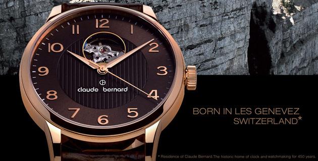 Moda Saat İle Size Özel Claude Bernard Saatler!