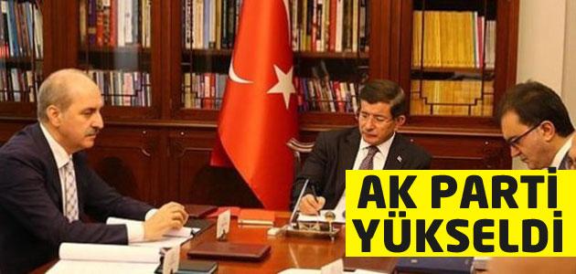 Başbakan Davutoğlu Ak Parti oy oranlarını açıkladı