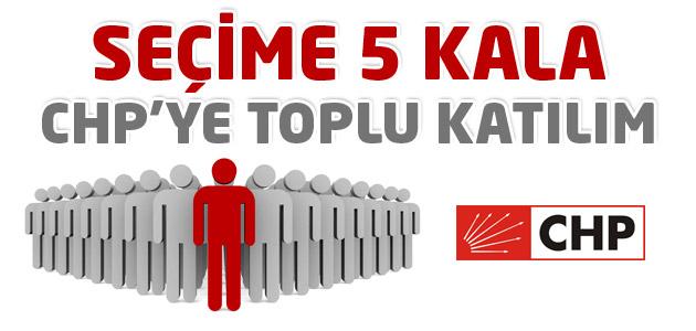 214 kişi törenle CHP saflarına katıldı!