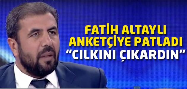 Ak Partinin anketçisine canlı yayında müthiş azar!