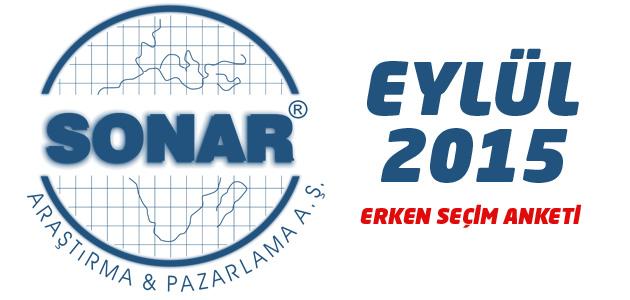 SONAR Araştırma Şirketi 1 Kasım Erken seçim anketi sonuçları - Hakan Bayrakçı