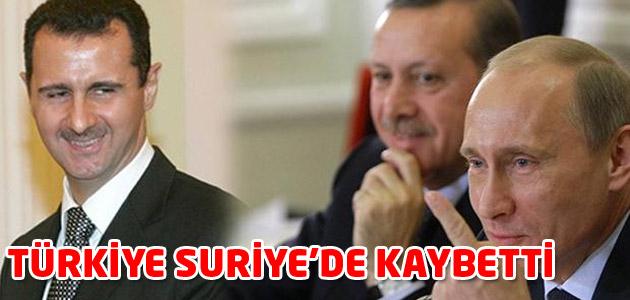 Independent: Türkiye Suriyede kaybetti!