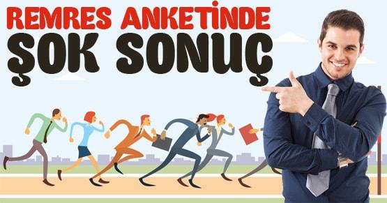 REMRES anketinde Erdoğan ve Ak Partiye Şok