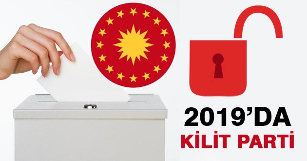2019 Cumhurbaşkanlığı Seçiminin Kilit Partisi