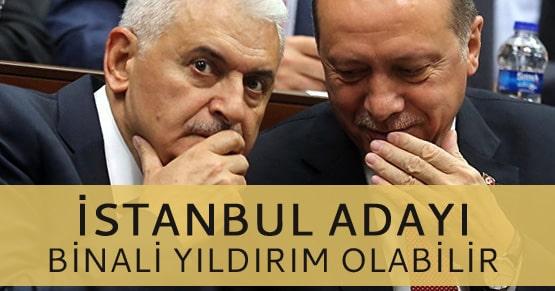 Erdoğan ima etti İstanbul adayı Binali Yıldırım olabilir