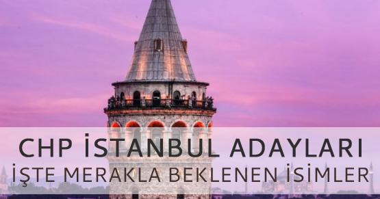 CHP İstanbul adayları belli oldu! İşte 2019 adayları