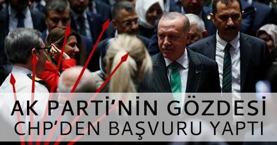 Ak Partili eski başkanın tercihi CHP oldu