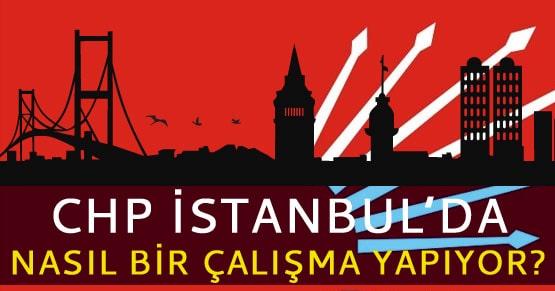 CHP İstanbul Büyükşehir İçin Plan Yapıyor