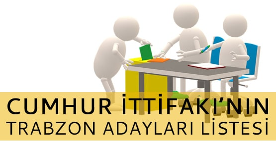 Cumhur İttifakı Trabzon ve ilçelerinin 2019 başkan adaylarını açıkladı