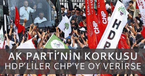 Ak Parti ve MHP endişeli: HDP seçmeni CHP adaylarına oy verirse