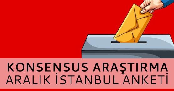 Son açıklanan İstanbul anketinde hangi parti önde