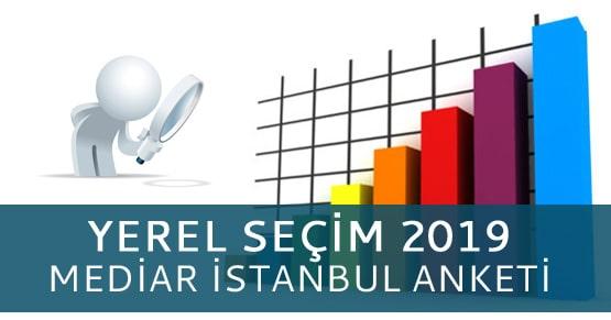 MEDİAR Araştırma İstanbul anket sonucu