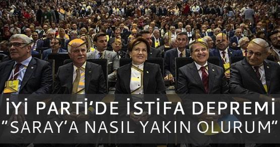 İYİ Parti istifa haberleri ile sarsıldı