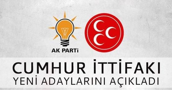 Cumhur İttifakı Malatya ve Aydın adayları açıklandı