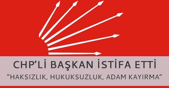 CHP yönetimini zora sokacak istifa