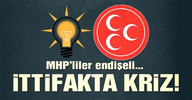 Ak Parti MHP ittifakından ilk aykırı sesler