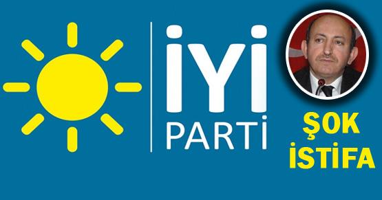 İYİ Parti Genel Başkan Yardımcısı istifa etti