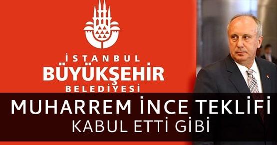 Muharrem İnce CHP İstanbul BŞB adayı olabilir