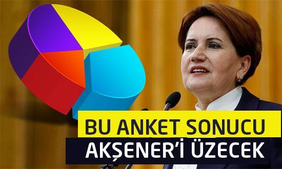Akşener ve İYİ Parti bu anket sonucunu konuşuyor!