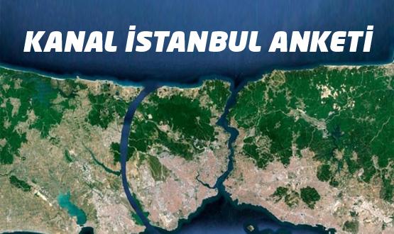 İBB Kanal İstanbul anketine katılın