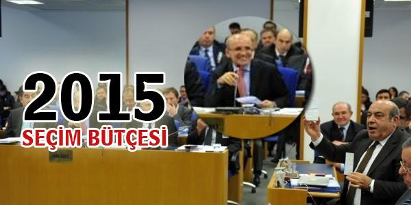 2015 Seçim bütçesi belli oldu!