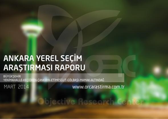 Ankara Büyükşehir ve İlçelerde Anket Sonucu