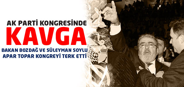 Ak Parti Yozgat İl Kongresinde kavga