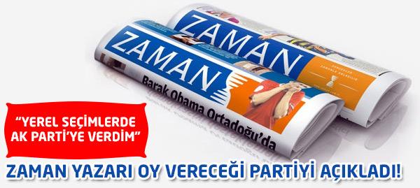 Hangi Partiye Oy Vereceğini Açıkladı!