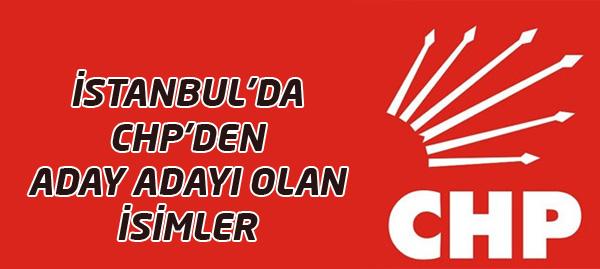 İstanbul İlçelerinde CHP Aday Adayları !