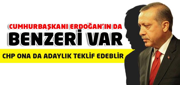 Cumhurbaşkanı Erdoğan da bu benzerliğe şaşırdı!