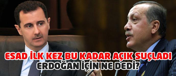Beşar Esad, Cumhurbaşkanı Erdoğan için iddialarda bulundu!