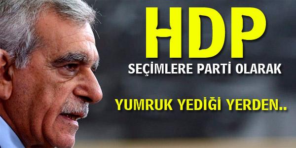 HDP 2015 Genel Seçimlerine parti olarak mı girecek?