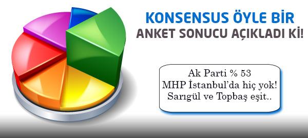Konsensus Ankara ve İstanbul Anketi Sonuçları