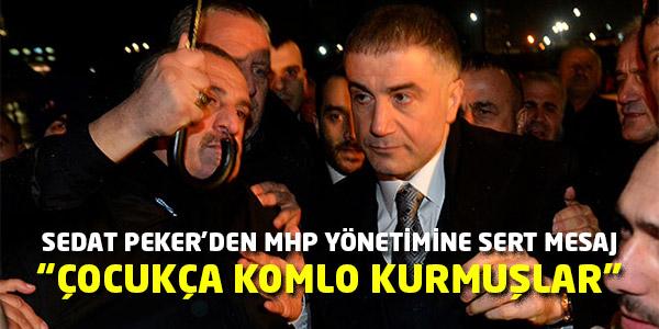 Sedat Peker Yine MHP Üst Yönetimini Hedef Aldı!