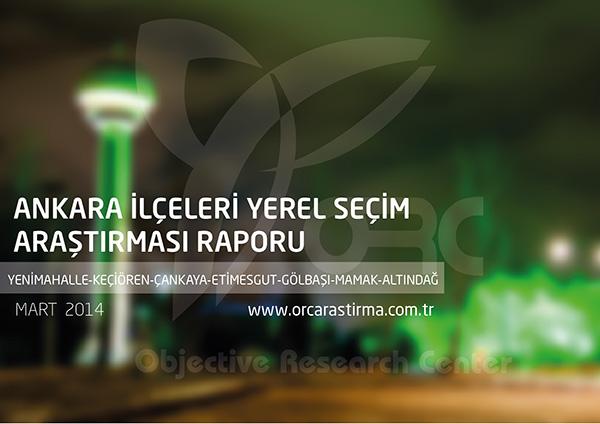 Ankara İlçelerinde Hangi Parti Önde?