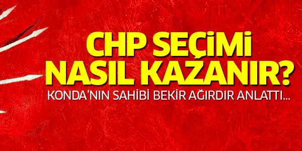 CHP 2015 seçimlerini nasıl kazanır? Tek yolu...