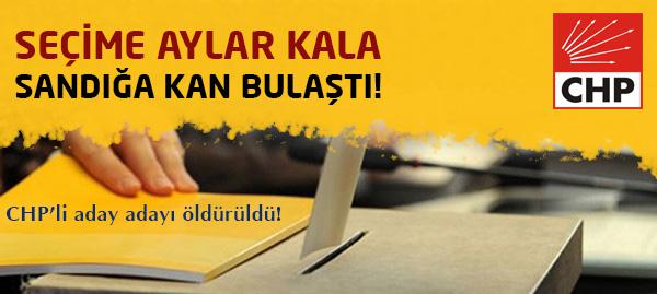 CHP Aday Adayı Abbas Taştan Öldürüldü!