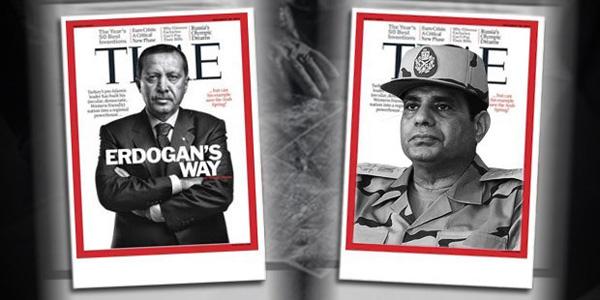 Time Anketi Yine Gündemde.. Erdoğan mı, Sisi mi?