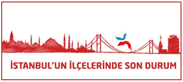 İstanbul İlçelerinde Hangi Parti Önde?