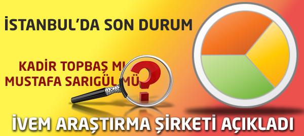 İstanbul Yerel Seçim Anketinden Kim Çıktı?