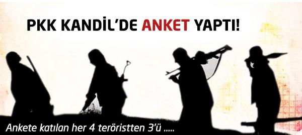 PKK Kandil Anket Sonuçları Açıklandı!