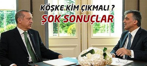 Gül mü Erdoğan mı Cumhurbaşkanı Olsun?